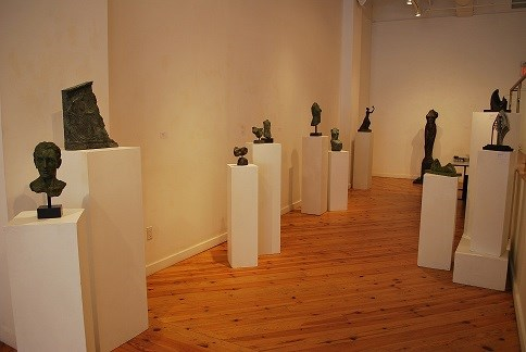 Recent Solo Exhibition at Canadian Sculpture Centre - October 2015 - Classical Sculptures